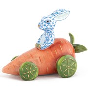 Herend Carrot Car Bunny