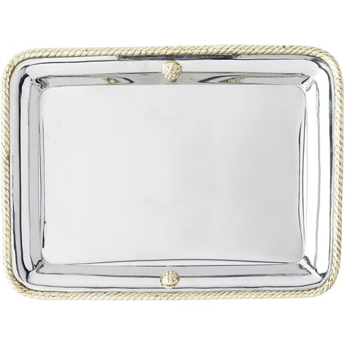 Juliska Periton Stainless Steel Rectangular Bar Tray