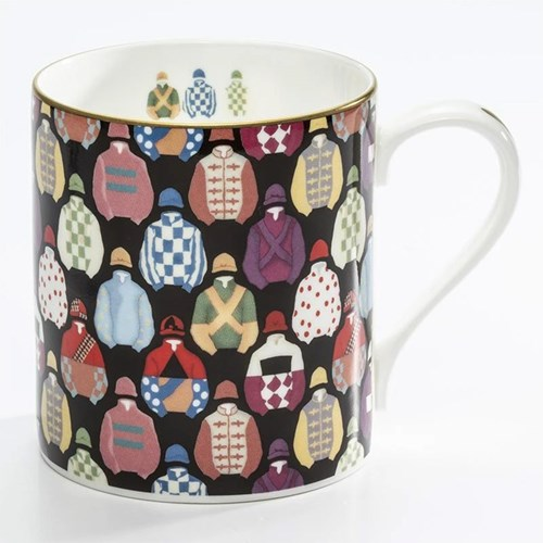 Halcyon Days Racing Silks Mug