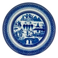 Mottahedeh Blue Canton Dinner Plate, Medium