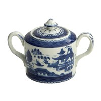 Mottahedeh Blue Canton Covered Sugar Bowl