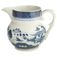 Mottahedeh Blue Canton Pitcher, Small