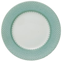 Mottahedeh Green Lace Charger / Presentation Plate