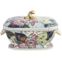 Mottahedeh Tobacco Leaf Soup Tureen
