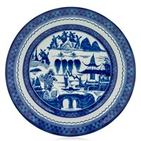 Mottahedeh Blue Canton Dinner Plate, Large