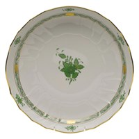 Herend Chinese Bouquet Green Open Vegetable Dish