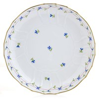 Herend Blue Garland Open Vegetable Bowl