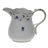 Herend Blue Garland Creamer, Medium