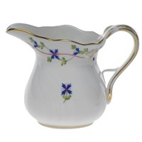 Herend Blue Garland Creamer, Large