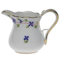 Herend Blue Garland Creamer, Small