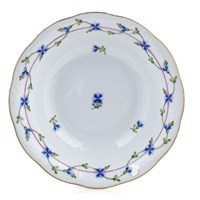 Herend Blue Garland Oatmeal Bowl
