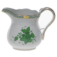 Herend Chinese Bouquet Green Milk Pitcher