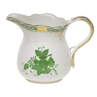 Herend Chinese Bouquet Green Creamer, Large