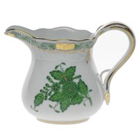 Herend Chinese Bouquet Green Creamer, Small