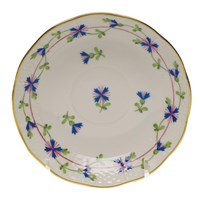Herend Blue Garland After Dinner Saucer