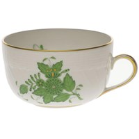 Herend Chinese Bouquet Green Canton Cup