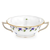 Herend Blue Garland Cream Soup Cup