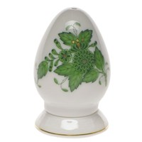 Herend Chinese Bouquet Green Pepper Shaker
