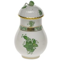 Herend Chinese Bouquet Green Sugar Shaker