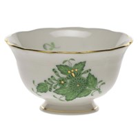 Herend Chinese Bouquet Green Open Sugar Bowl