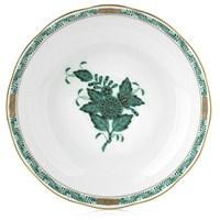 Herend Chinese Bouquet Green Mocha Saucer