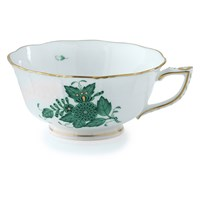Herend Chinese Bouquet Green Teacup