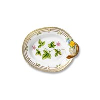 Royal Copenhagen Flora Danica Pickle Dish