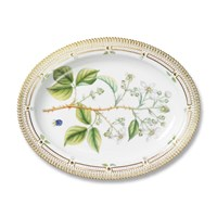 Royal Copenhagen Flora Danica Oval Platter, Medium