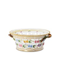 Royal Copenhagen Flora Danica Round Fruit Basket
