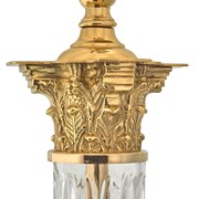 Crystal Corinthian Column Lamp