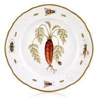 Anna Weatherley Antique Vegetables Salad Plate, Carrot
