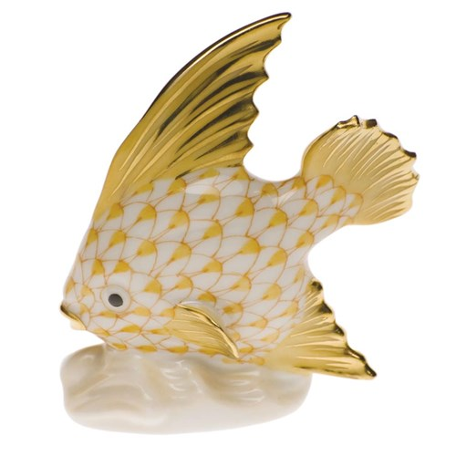 Fish Table Ornament Butterscotch
