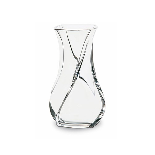 Baccarat Serpentin Crystal Vase, Medium