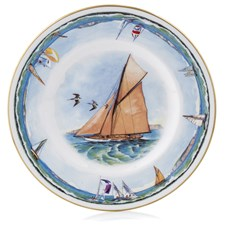 Royal Worcester Nautical Dessert Plate