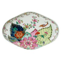 Mottahedeh Tobacco Leaf Oval Tray