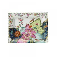 Mottahedeh Tobacco Leaf Rectangular Tray Large