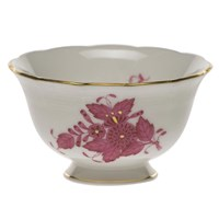 Herend Chinese Bouquet Raspberry Open Sugar Bowl