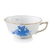 Herend Chinese Bouquet Blue Teacup