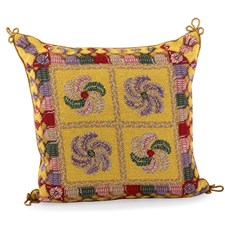 Whist Gold Tapestry Pillow