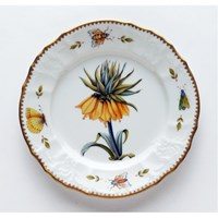 Anna Weatherley Redoute Salad Plate, Yellow Flower