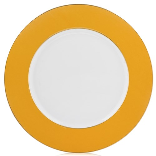 Raynaud Yellow Border Charger / Presentation Plate