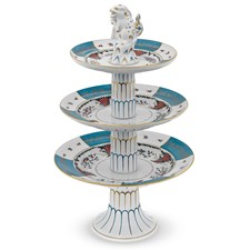 Herend Cornucopia Three Tier Server