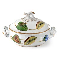 Anna Weatherley Seascape Waterlily Oval Tureen