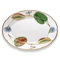 Anna Weatherley Seascape Waterlily Oval Platter