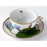 Anna Weatherley Seascape Waterlily Cup & Saucer