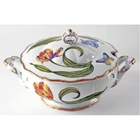 Anna Weatherley Old Master Tulips Round Soup Tureen