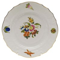 Herend Fruits & Flowers Bread & Butter Plate