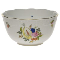 Herend Fruits & Flowers Round Bowl