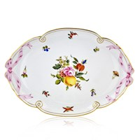 Herend Fruits & Flowers Ribbon Tray