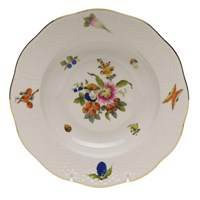 Herend Fruits & Flowers Rim Soup Bowl